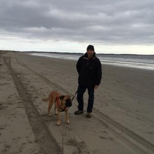Winterspaziergang am Atlantik
