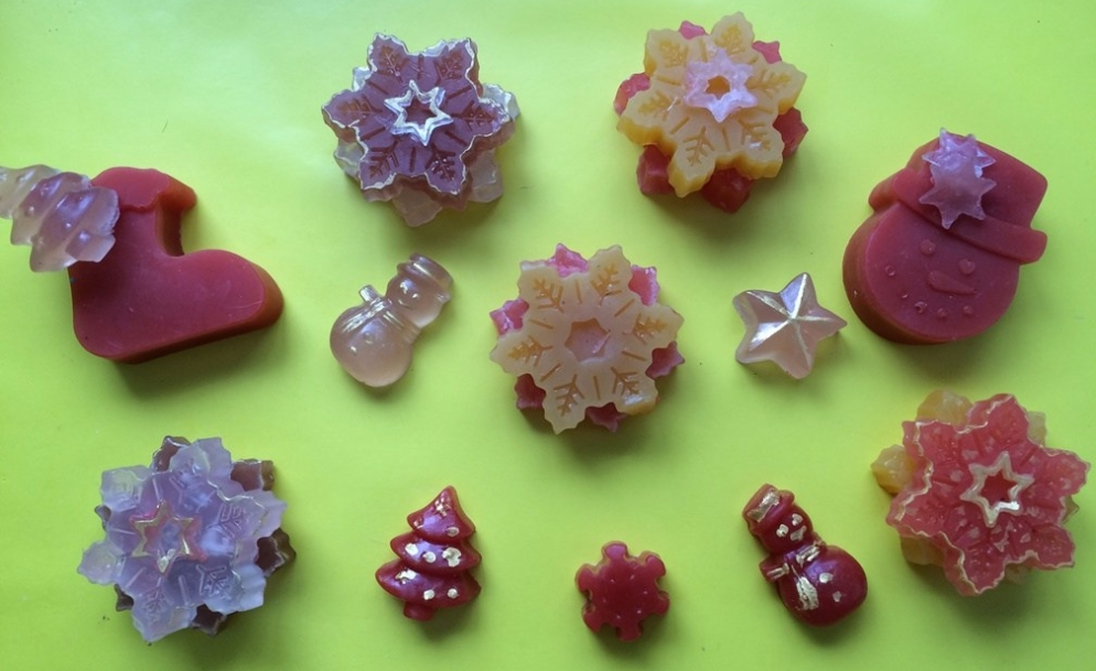 Soap decorations