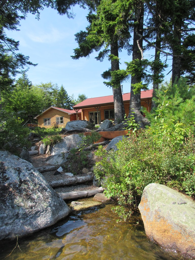 11 Zugang vom See zum Haus