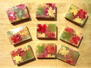 Fallen Leaves Soap