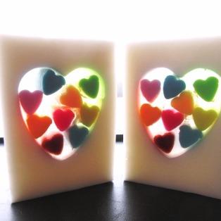 Strawberry Rainbow Hearts (2)
