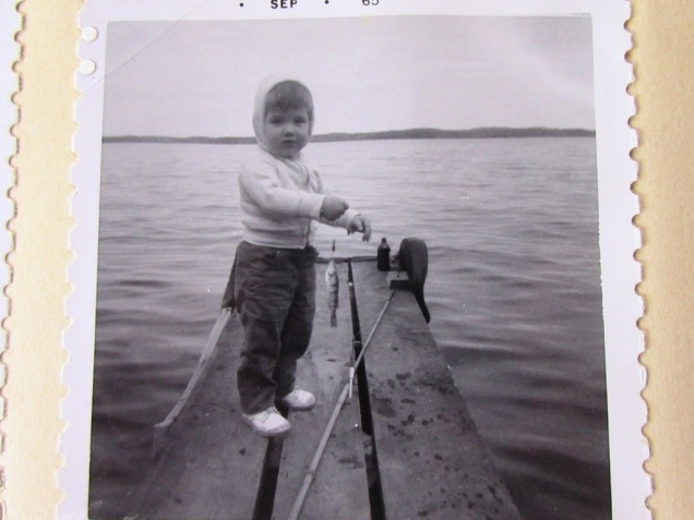 2 year old manuela at rice lake, ontario
