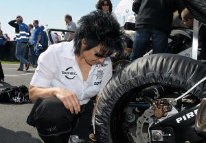 2008 Checking tires